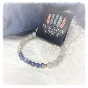 Function & Fringe Jewelry - All Natural Semi Precious Stone Bracelet