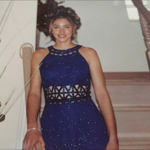Scala Dresses & Skirts - Royal Blue sequence dress