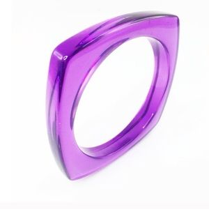 Adia Kibur Jewelry - Adia Kibur purple thin translucent bangle-NWT!