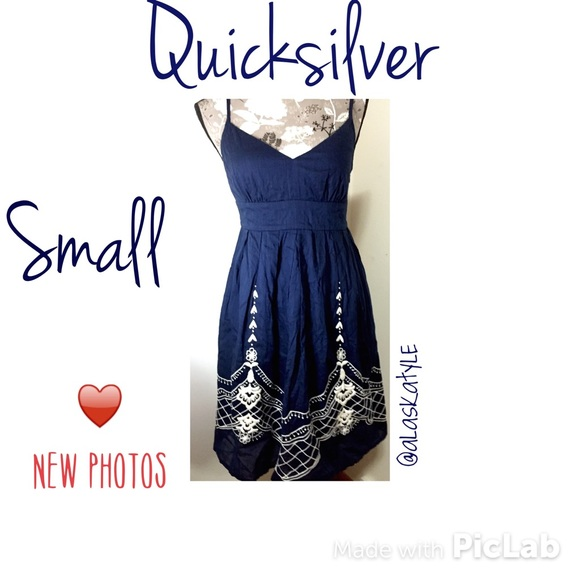 Quiksilver Dresses | Sale Quicksilver Navy