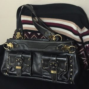 Clearance Sale Black AuthenticLeather Michael Kors