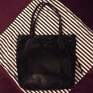 henri bendel Handbags - Henri Bendel Signature Black Leather Tote