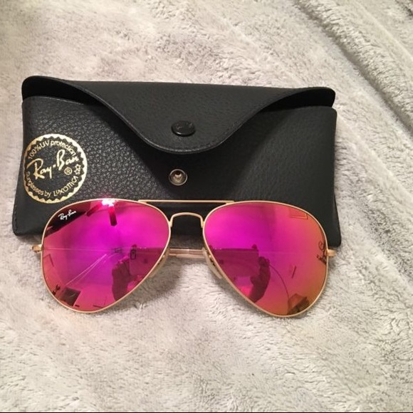 5eb88eb5a9 Ray ban rb3025 pink mirror magenta lens 58mm