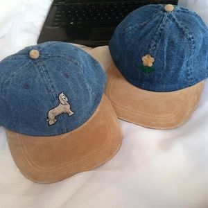 Accessories - Baseball cap with puppy dog and daisy