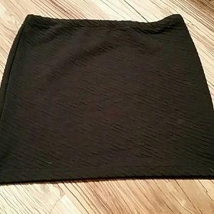 LUSH cotton mini skirt with cute texture