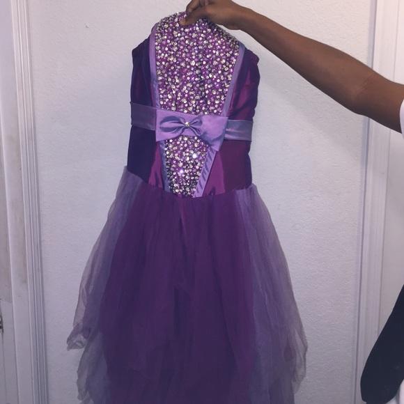 Dresses Plus Size Purple Prom Dress Poshmark