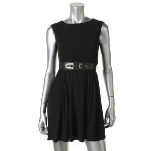 ALFANI Black Stretch Wear to Work Dress Petites PM