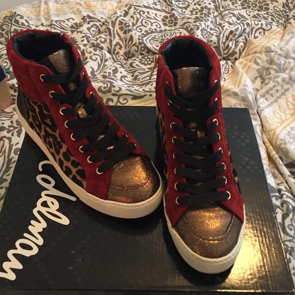 ae42f13442e4a Sam Edelman Britt High Top Sneaker. M 56d3156b4e95a3702f0024d8