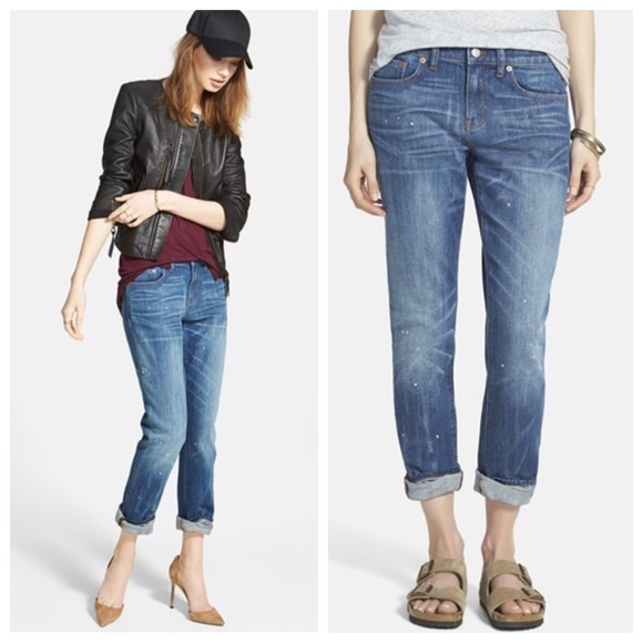 the best attitude unparalleled new product Madewell 'The Slim Boyjean' Boyfriend Jeans NWT