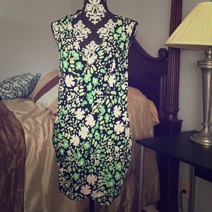 Tracy Reese Neon Flower Dress