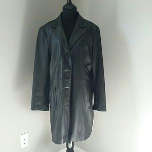 Wilsons Leather Jackets & Blazers - Beautiful black Wilson's leather coat