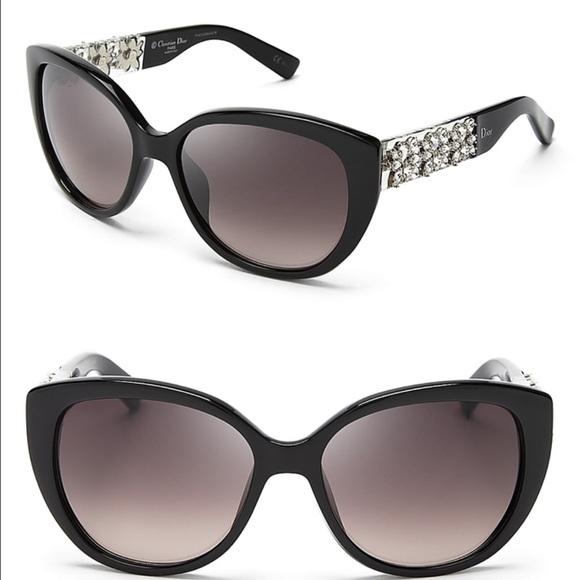 6c2e328d8013 DIOR MYSTERE Limited Edition Sunglasses Black NWT