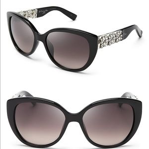 Dior Limited Edition Sunglasses Black w Crystals