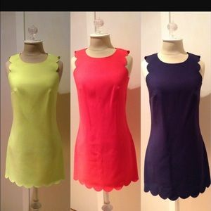 J. Crew Dresses - Jcrew scallop dress