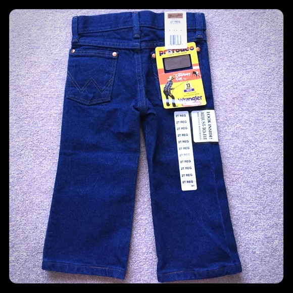 7cb1e82e Wrangler Bottoms | Toddler Pro Rodeo Jeans 2t | Poshmark