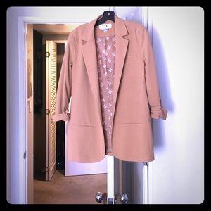 Forever 21 Jackets & Coats - Beige boyfriend blazer