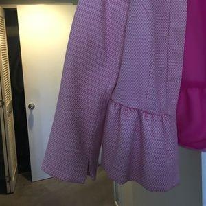 1. State Jackets & Coats - Pink peplum blazer