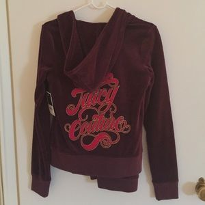 Juicy Couture Other - New with tags Plum Wine Juicy Velour Suit