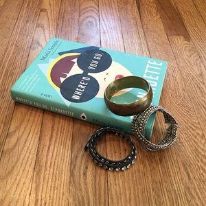 Bracelet bundle mixed metals