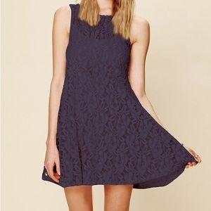 NWOT FP lace dress