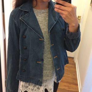 Ralph Lauren Jackets & Blazers - Ralph Lauren double breast Jean denim jacket navy