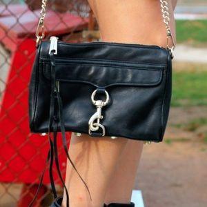 Black Rebecca Minkoff Mini Mac Bag!