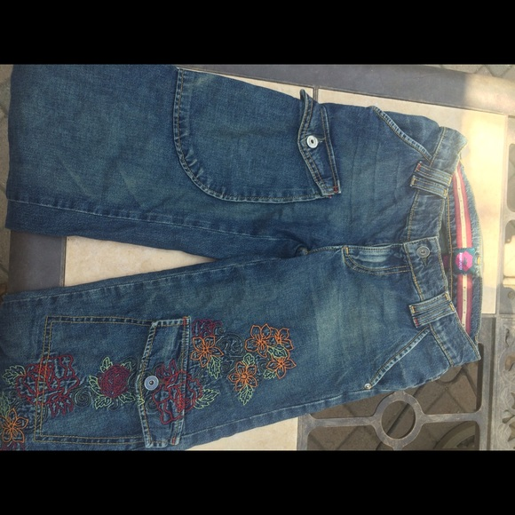 Fiorucci Pants - Embellished Capris