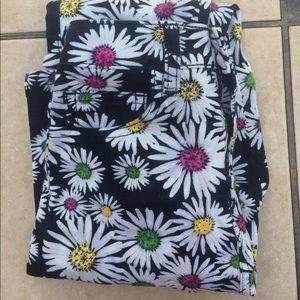 Nasty Gal Jeans - Nasty Gal Flower Denim