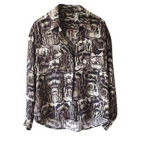 camilla & marc Tops - Camilla and Marc Silk Shirt