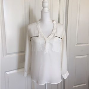 Lulus Tops - White blouse