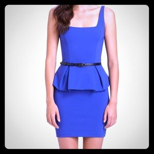 Robert Rodriguez Peplum Dress