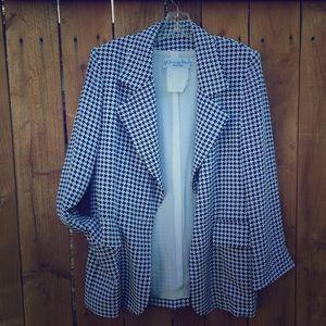 Dior Jackets & Blazers - ⬇️ Vintage Christian Dior Blue & White Blazer