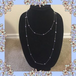 Jewelry - Long pearl necklace 46 inches