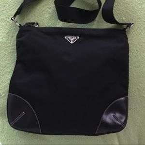 prada purse purple - Black Prada crossbody bag on Poshmark