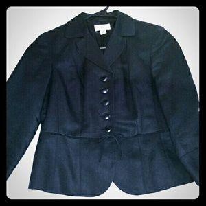 Loft elegant and sweet black jacket.
