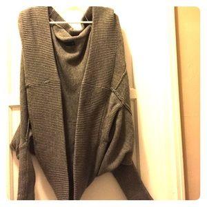 Zara oversized sweater jacket size medium