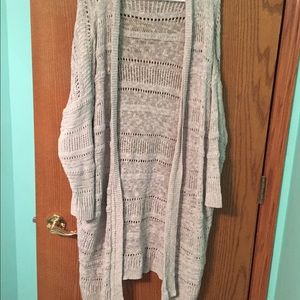 Long sweater from Urban Outfitters.