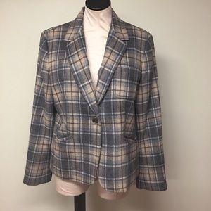Talbots classic wool blazer. Perfect for work.