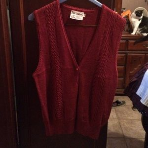 Personal Sweaters - Cute rust colored sweater