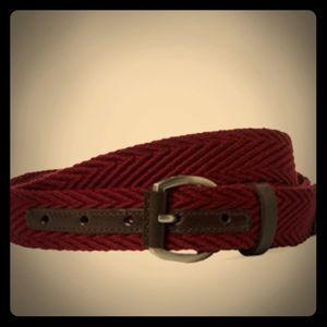 Ben Sherman Herringbone Weave Belt