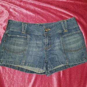 American Eagle Outfitters Pants - AMERICAN EAGLE Shortie Jean shorts
