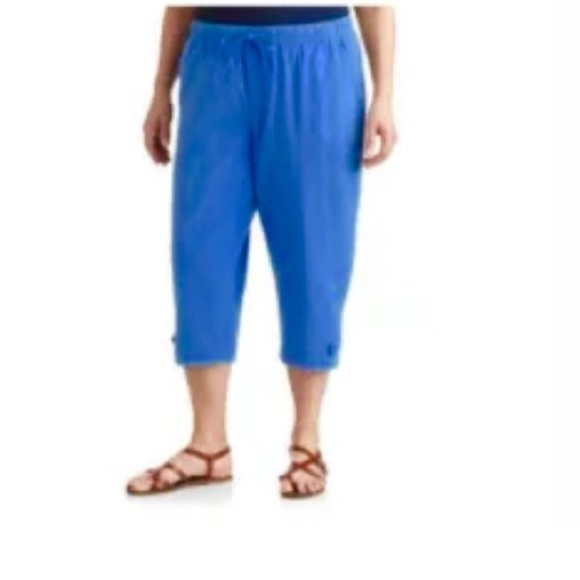 White Stag - BLOWOUT HOLIDAY SALE‼ 3X White Stag Capris Blue ...