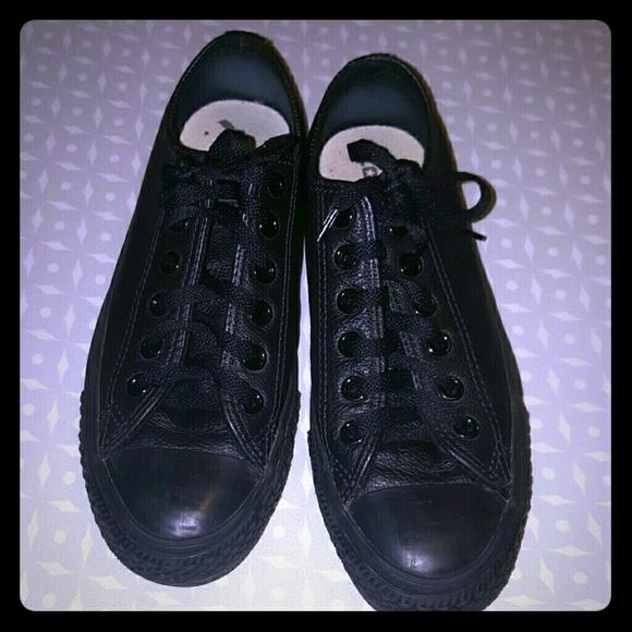 black converse womens 7.5