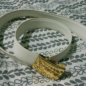 Authentic Leather Paloma Picasso Belt