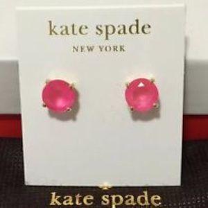 kate spade Accessories - Kate Spade Pink Gum Drop Earrings