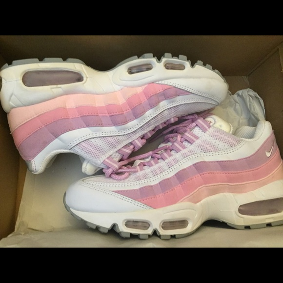 Nike Shoes Powder Pink Air Max 95 Poshmark