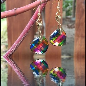 Jewelry - Handcrafted earrings with Swarovski crystal #90