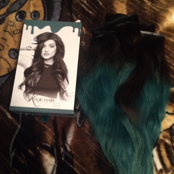 Ombre extensions kylie jenner