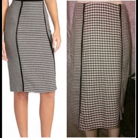 2d62eeb3a2 Cato Skirts | Fashion Houndstooth Pencil Skirt | Poshmark