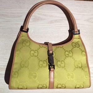 Gucci hand bag monogram vintage like NEW